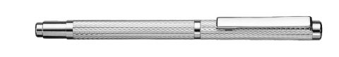 Sterling Silver Mini Ballpoint Pen - York - Corn Pattern Sterling Silver